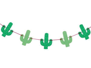 Party Kit Company - Decorations Garlands and Bunting Wooden Cactus Party Bunting