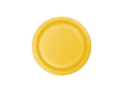 Party Kit Company - Tableware Plates Yellow Cake plates (8pk)