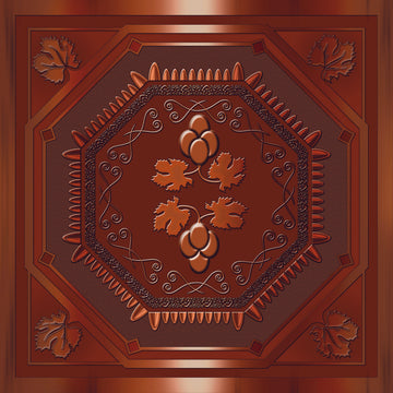 0108 Faux Tin & Copper Ceiling Tile