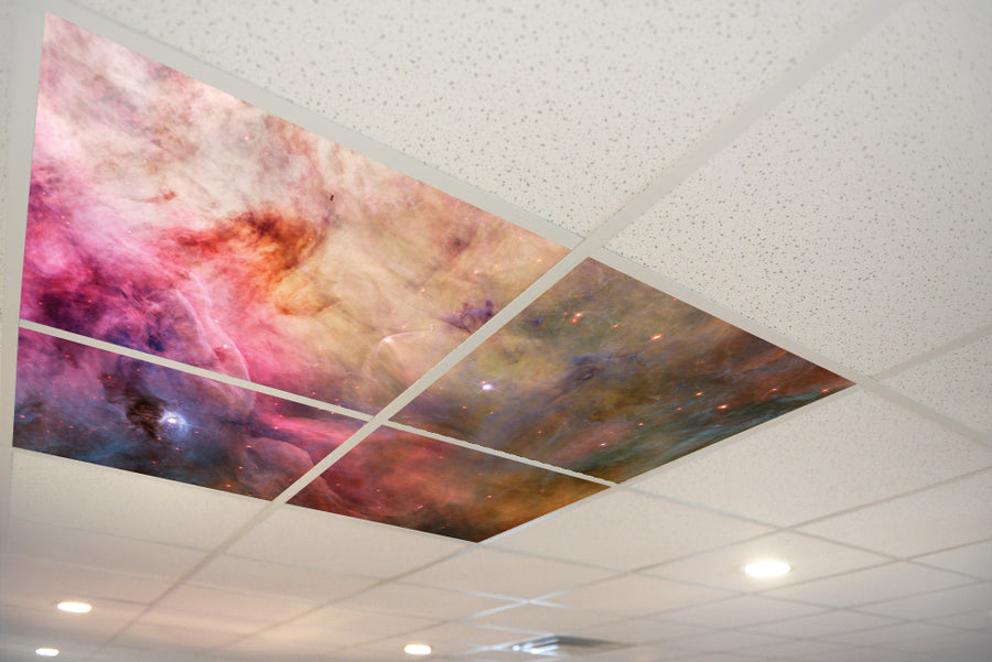 4206 Night Sky & Stars Ceiling Tile