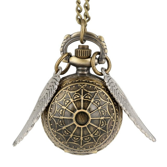 Luxury Golden Snitch Ball Necklace