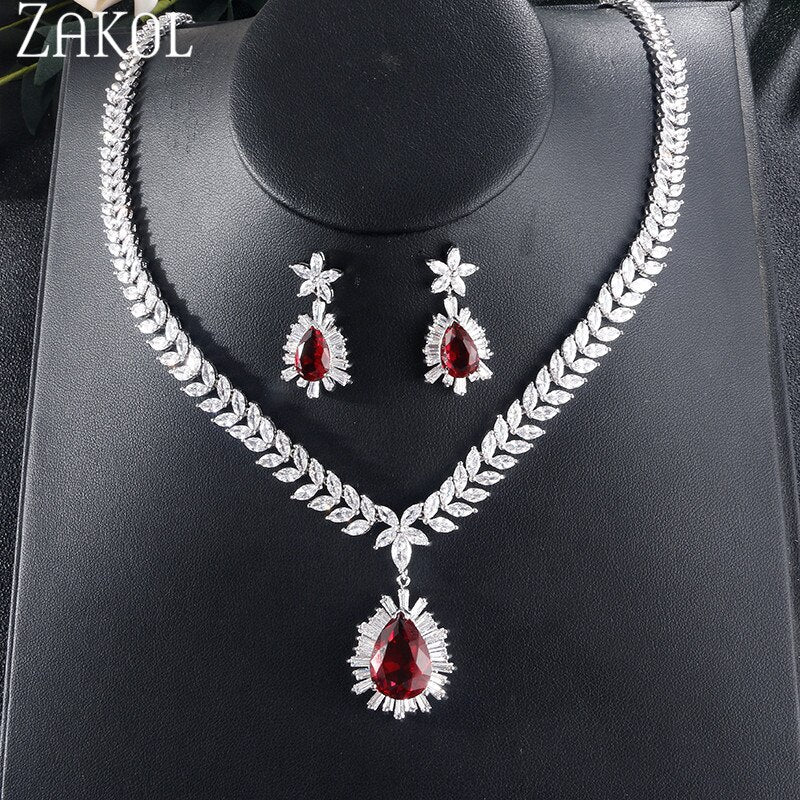 Cubic Zirconia Droplets Set