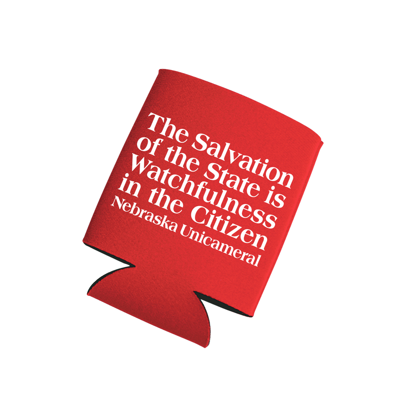 Salvation of the State Koozie