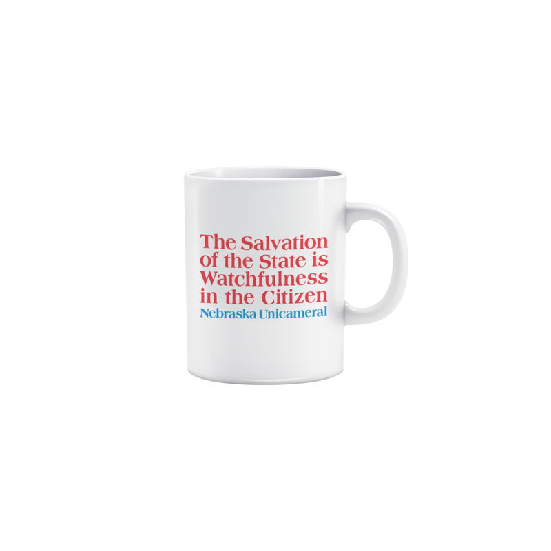 Salvation of the State Mug