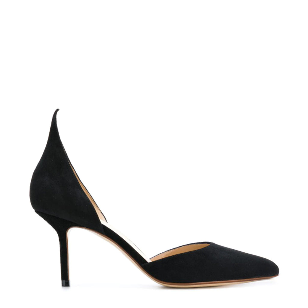 Pointed Mid-height Pumps