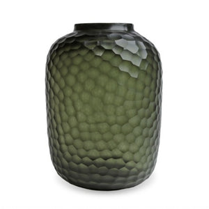 Vase Bambola L | Black - Steel Gray
