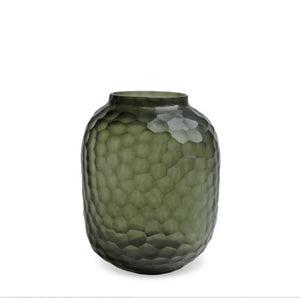 Vase Bambola M | Black - Steel Gray