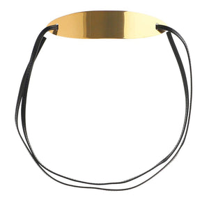 Gold-tone Tie-back Belt