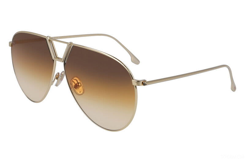 Brown Gold Sunglasses