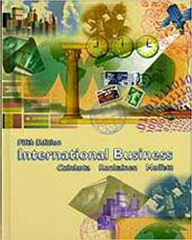 International Business (The Dryden Press series in management) [Hardcover] Czinkota, Michael R.; Ronkainen, Ilkka A. and Moffett, Michael H. by D K Srivastava, 1998