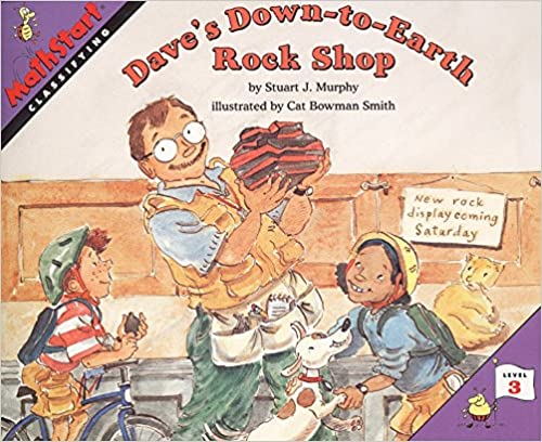 Dave's Down-to-Earth Rock Shop: Math Start - 3 [Paperback] Stuart J. Murphy and Cat Bowman Smith by Durrani, Tehmina, 2000