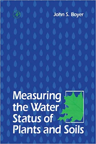 Measuring the Water Status of Plants and Soils [Paperback] Boyer, John S. by Boyes, Carolyn, 1995