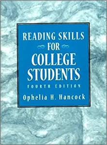 Reading Skills for College Students Hancock, Ophelia H. by Chelsea, H, ler, 1997