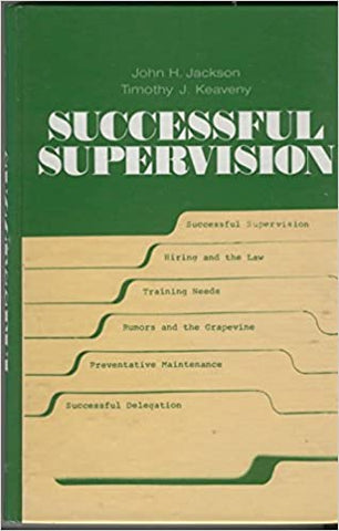Successful Supervision Jackson, John Harold by Jacob Grey, 1980