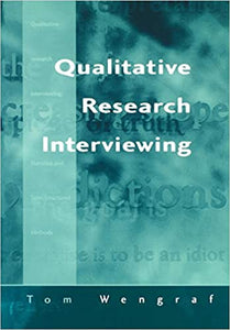 Qualitative Research Interviewing: Biographic Narrative and Semi-Structured Methods [Paperback] Tom Wengraf by Morrison, Toni, 2001