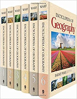 Encyclopedia Of Geography by Barney Warf, 2010