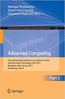 Advanced Computing by Meghanathan N., 2010