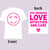 "The HIRS Collective ""You Deserve Love"" White Shirt"