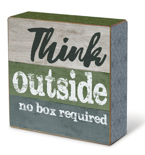 Oak Patch Gifts In the Garden: Blox-Think outside, no box required!