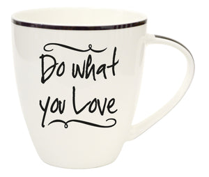Oak Patch Gifts Conversation Mugs - Do What You Love