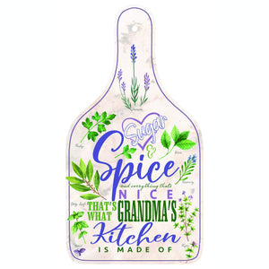 Oak Patch Gifts Cherished Women: Sugar & Spice Grandma Cutting Board