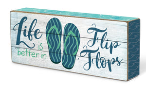 Oak Patch Gifts Coastal: Blox: Life in Flipflops