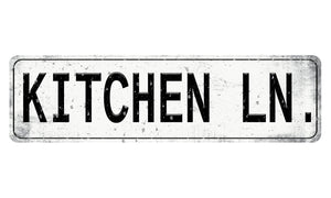 Oak Patch Gifts Vintage Kitchen: Kitchen Lane Sign