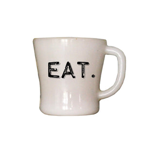 Oak Patch Gifts Vintage Kitchen: Eat Word Mug