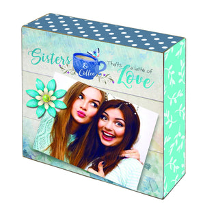 Oak Patch Gifts Cherished Women: Sisters Photo Blox