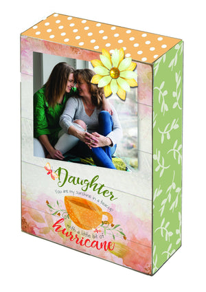 Oak Patch Gifts Cherished Women: Daughter Photo Blox