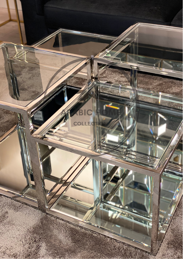 Four Layered Glass Coffee Table