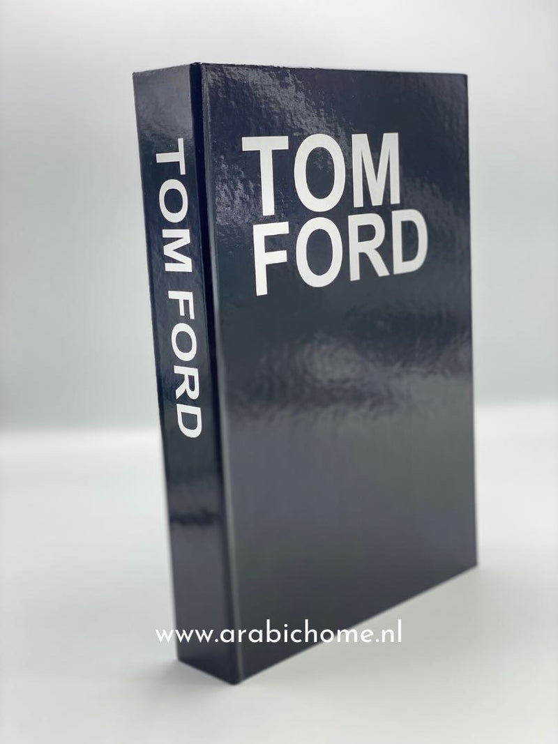 Boekenkaft Tom Ford.