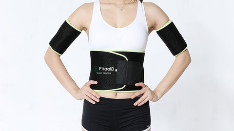 WAIST TRIMMER X SWEAT GEL - WORKOUT ENHANCER