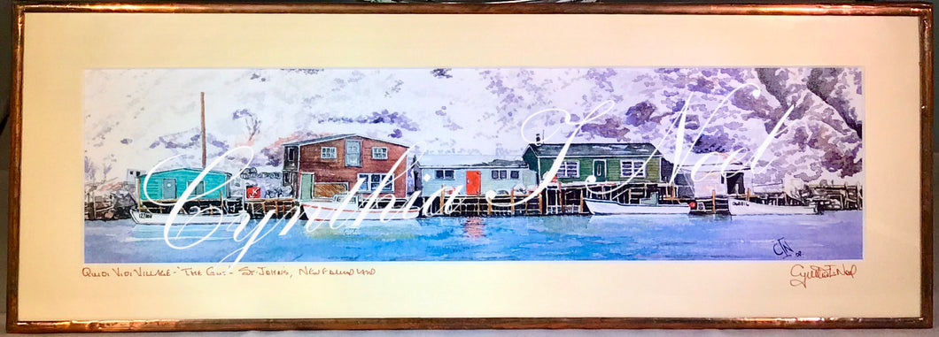 'The Gut,' Quidi Vidi Village, St. John's, Newfoundland & Labrador