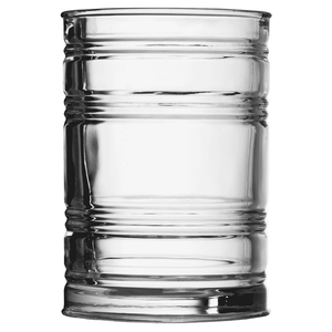 Glass Tin Can Tumbler