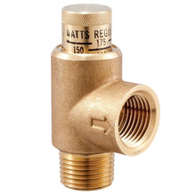 Load image into Gallery viewer, 1/2 In. Lead Free Brass Pressure Relief Valve