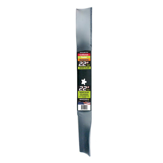 Maxpower Husqvarna Craftsman Poulan Replacement 22 Inch Lawn Mower Blade Part