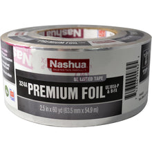 Load image into Gallery viewer, 2.5 In. X 60 Yd. 324A Premium Foil UL Listed HVAC Tape