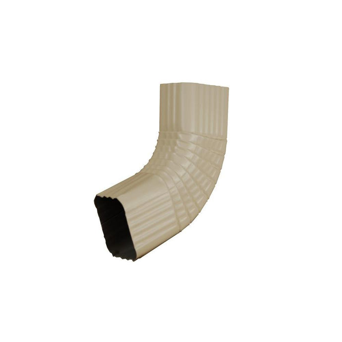 2 In. X 3 In. Almond Aluminum Downspout B Elbow