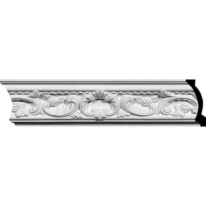 2 In. X 4-1/2 In. X 94-1/2 In. Polyurethane Telma Crown Moulding