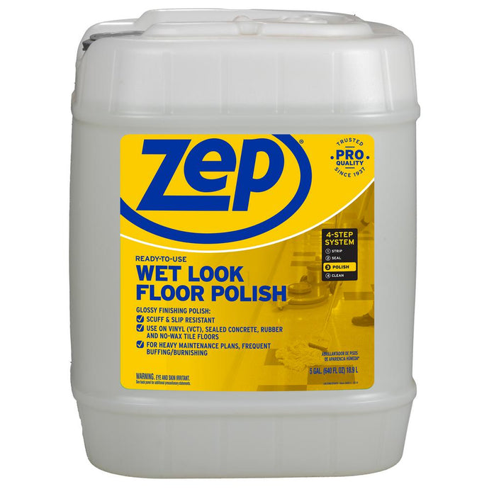 5-Gallon Wet-Look Floor Polish