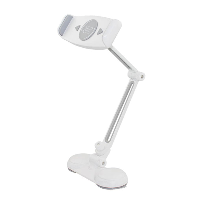Aluminum Adjustable Phone/Tablet Holder For 7-12 In. Devices With Suction Mount