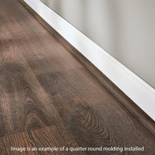 Load image into Gallery viewer, Beacon Oak Light 0.62 In. Thick X 0.79 In. Wide X 94.5 In. Length Vinyl Quarter Round Molding