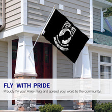 Load image into Gallery viewer, Fly Breeze 3 Ft. X 5 Ft. Polyester POW MIA Flag 2-Sided Banner With Brass Grommets And Canvas Header