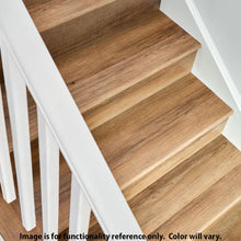 Load image into Gallery viewer, Jourdanton Walnut 1.32 In. Thick X 1.88 In. Wide X 78.7 In. Length Vinyl Stairnose Molding