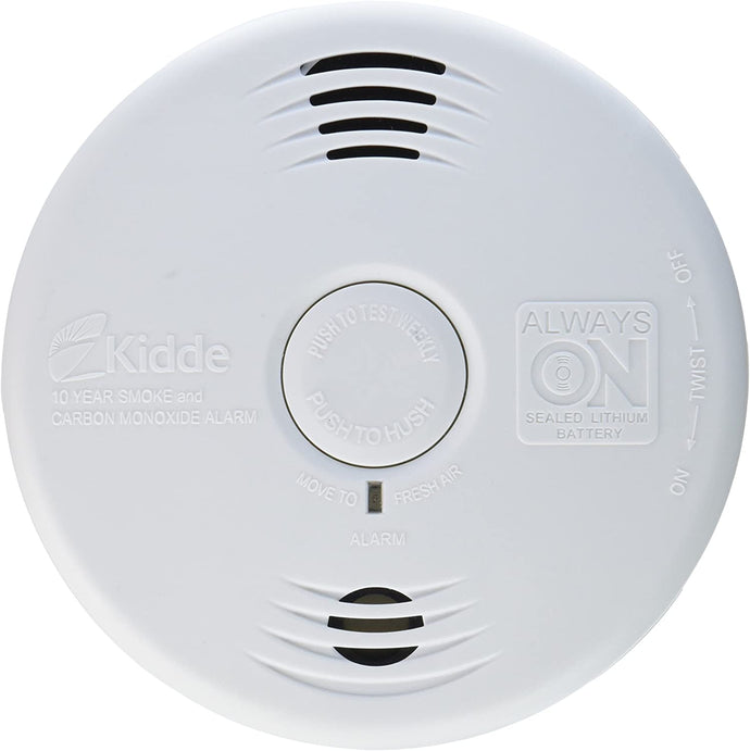 Kidde 21026065 Smoke And Carbon Monoxide Alarm With Voice Warning