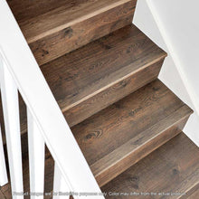 Load image into Gallery viewer, Marigold Oak .75 In. Thick X 2.36 In. Wide X 78.7 In. Length Laminate Stairnose Molding