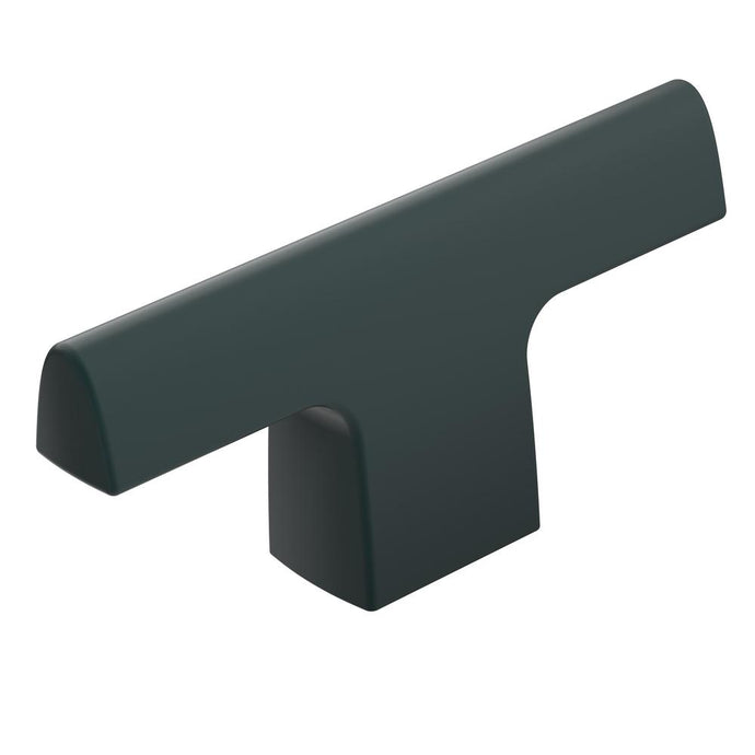 Riva 2-1/2 In. (64 Mm) L Matte Black Cabinet Knob