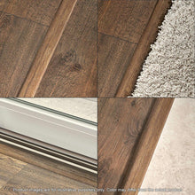 Load image into Gallery viewer, Rustic Espresso Oak 3/4 In. Thick X 2-1/8 In. Wide X 78-3/4 In. Length Laminate 4-in-1 Molding