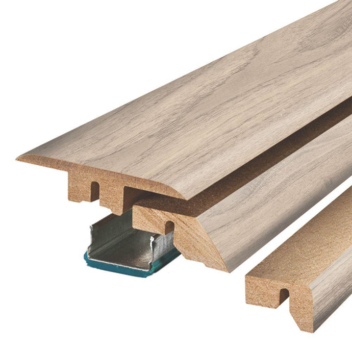 Snowbird Walnut 3/4 In. Thick X 2-1/8 In. Wide X 78-3/4 In. Length Laminate 4-in-1 Molding
